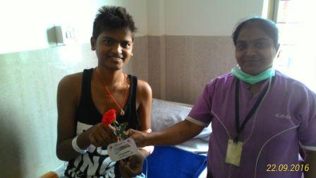 Rose Day Celebration in Hospital Premices on 22.9.2016 ( Image 10 )