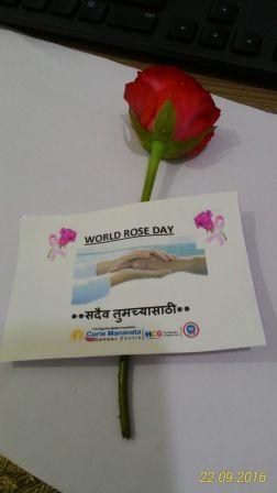 Rose Day Celebration in Hospital Premices on 22.9.2016 ( Image 5 )